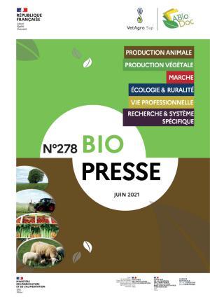 Couverture du biopresse 278